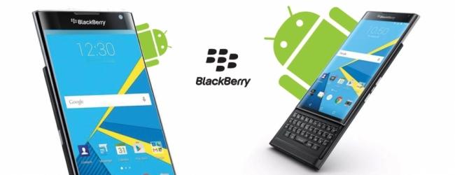 BlackBerry v celoti prehaja na Android