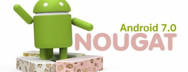 Android 7.0 z imenom Nougat je tu