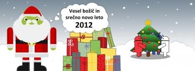 Vesel božič in srečno Novo leto 2012!