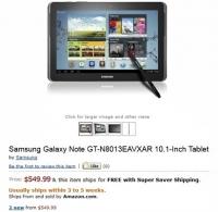 Samsung Galaxy Note 10.1 še ta mesec