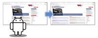 Imate širok zaslon, Slo-Android portal je pa ozek?