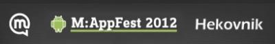 Nov natečaj za razvijalce: M:AppFest 2012