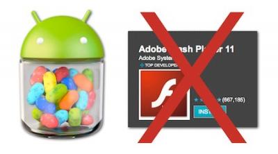 Adobe Flash Player dokončno zapušča Android naprave