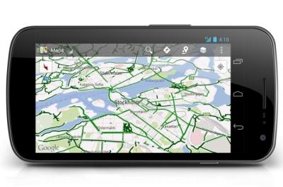 Dodano kolesarjenje v Google Maps
