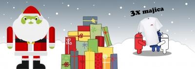 Božiček bo nosil Slo-Android majice