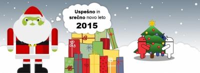 Uspešno in srečno Novo leto 2015!